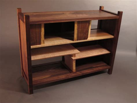 Custom Handmade Wood Furniture - solid wood bookshelves wood coffee tables with storage