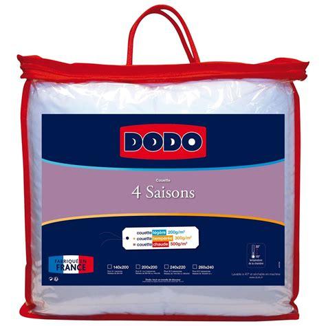 couette 4 saisons dodo dodo 4 saisons couette blanc brandalley