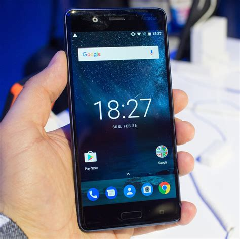 stock android phones nokia 5 on preview bouncing back on stock android phonearena reviews
