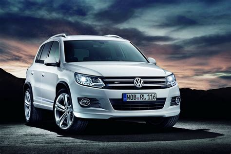2012 Volkswagen Tiguan Sports Up With New R Line Packages