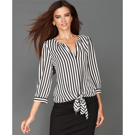 blouse stripe striped blouse awesome pink striped blouse