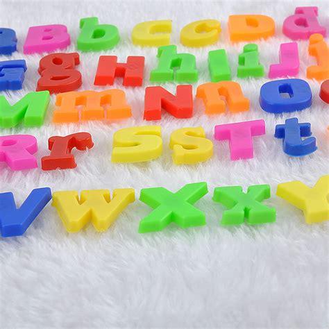 Magnet Kulkas Montenegro Quality Import 26pcs Colorful Letters Alphabet Numbers Fridge Magnetic