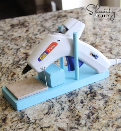 diy glue gun projects glue gun holder plans diy free
