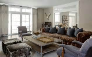 modern country living rooms chesterfield sofa design decor photos pictures ideas