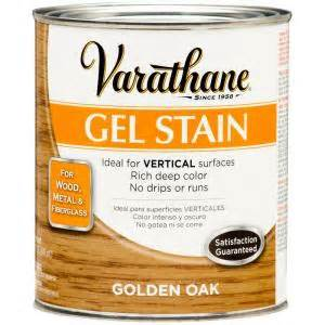 home depot stain varathane 1 qt golden oak gel stain 266339 the home depot