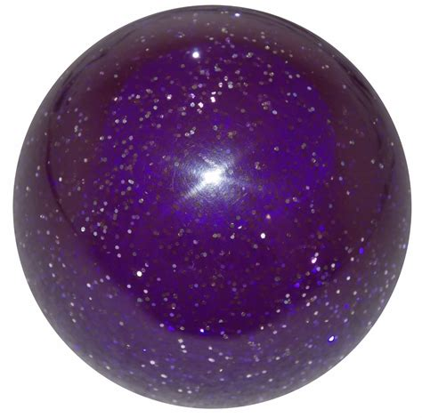 Purple Shift Knob by Purple Glitter Shift Knob