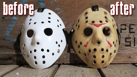 How To Make A Jason Mask Out Of Paper - how to make a killer jason mask for 25 friday the