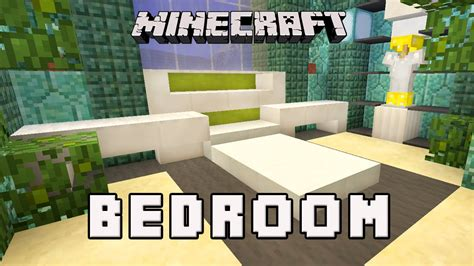 minecraft tutorial     modern bedroom design