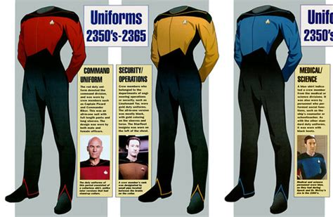 trek shirt color meaning the valkyrie directive and wore less starfleet