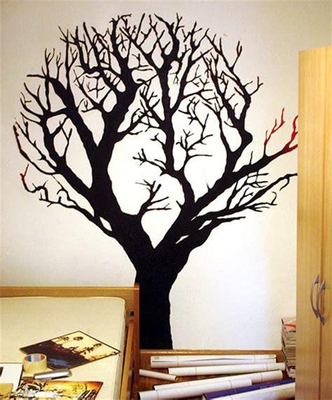 plantillas de decoracion navideñeo arbol como pintar un mural de un 225 rbol en la pared paso por paso