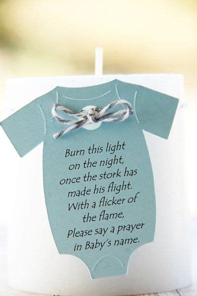 Opening Prayer For Baby Shower by Baby Shower Thank You Gift Favor Onesie Tag