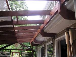 how to attach a patio roof to an existing house finally a way to attach a pergola to our house w out