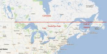 new york canada map new mexico border map