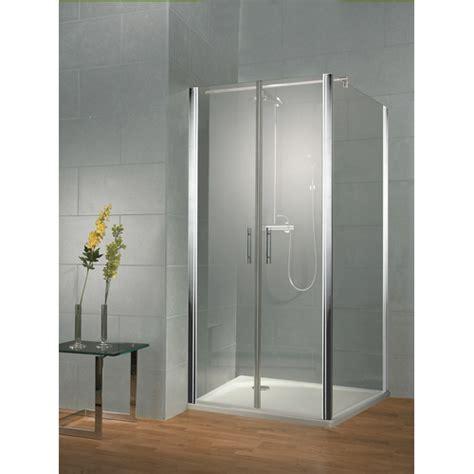 Hsk Shower Doors Frameless 800 Saloon Door Recessed Option With 2 X Hinged Doors Only 163 389 99