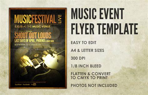 Music Event Flyer Template Medialoot Musician Wanted Flyer Template