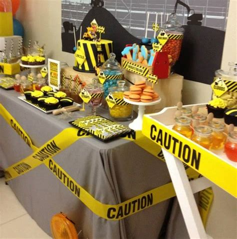 Construction Baby Shower Ideas by Construction Themed Baby Shower Baby Shower Themes