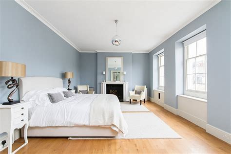 light blue wall bedroom blue and white interiors living rooms kitchens bedrooms