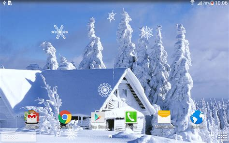 google winter wallpaper winter live wallpaper android apps on google play