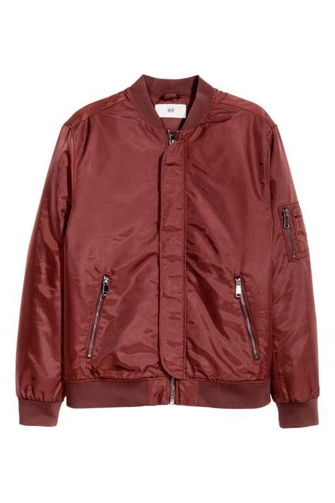 Jaket Bomber Rocafela 2 In 1 bomber jacket rust sale h m us