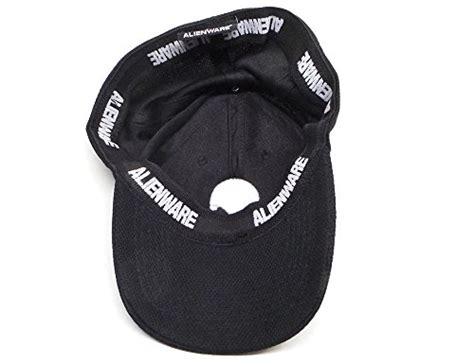 genuine alienware polyester videogame gaming unisex one size black baseball cap hat buy