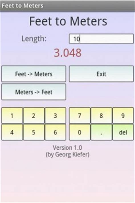 feet to m convert meters into feet pictures to pin on pinterest