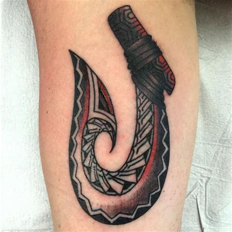 hawaiian tribal fish hook tattoo 11 best tribal fish hooks images on fish