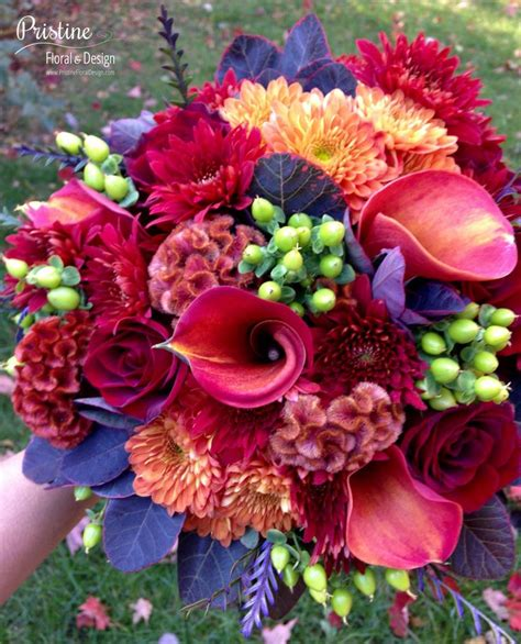 Wedding Bouquets Using Calla Lilies by 17 Best Images About October Weddings On Burnt