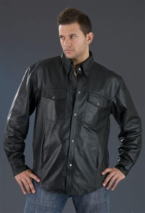 httpwwwmensleatherfashioncom leather shirt mens