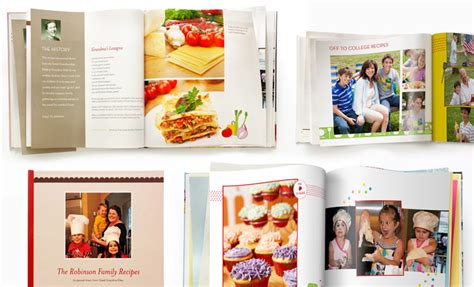 building a family books recipe photo books make a recipe book shutterfly