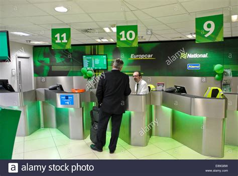 car hire airport stock  car hire airport stock