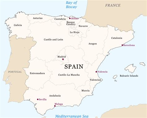 map spain spain region map free images at clker vector clip royalty free domain