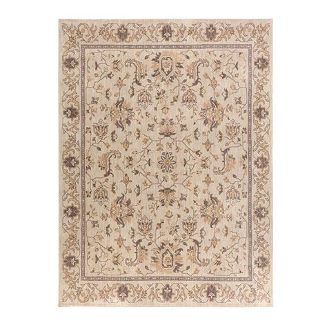 11 x 12 area rug home decorators collection jackson beige 10 ft x 12 ft 11 in area rug 509316 the home depot