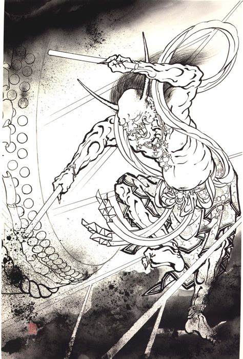 oni demon tattoo designs japanese oni summoners demonstation
