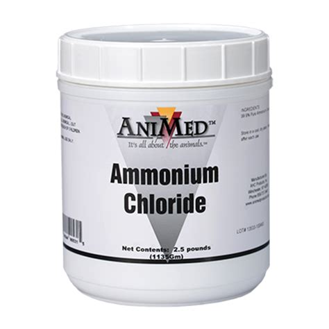 Amonium Chlorida animed ammonium chloride the cheshire