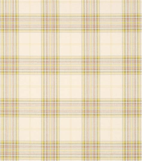 home decor fabric robert allen fisher plaid fabric