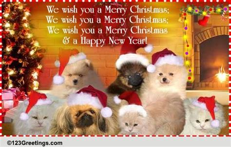 merry christmas  happy  year  english ecards greeting cards