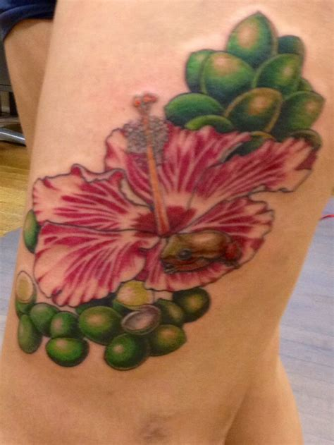 puerto rican flower tattoo amapola tattoos