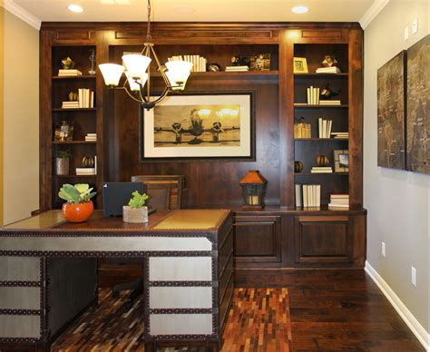 Office   Burrows Cabinets   central Texas builder direct