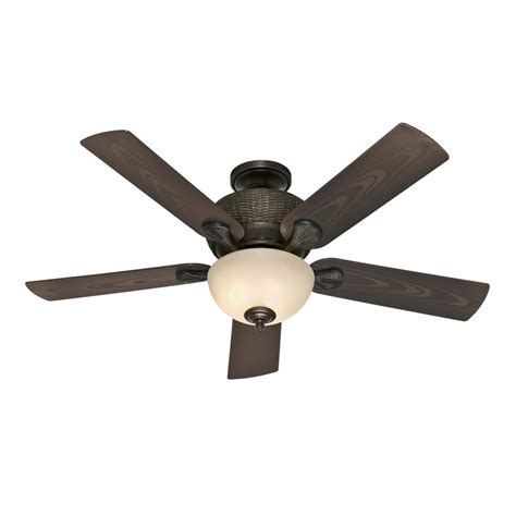 Black Outdoor Ceiling Fan With Light Shop Gulf Winds Outdoor 52 In Mystique Black Outdoor Multi Position Ceiling Fan With