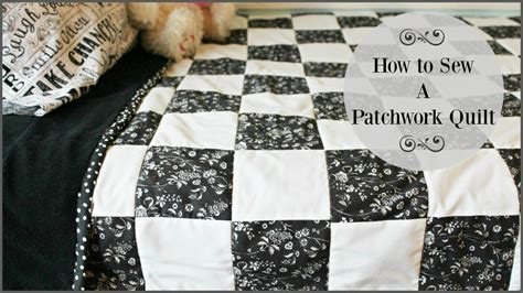 How To Sew Patchwork by How To Sew A Patchwork Quilt
