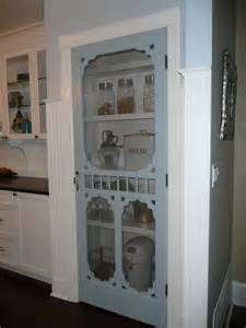 English Country Kitchen Ideas Screen Door Pantry In My Farmhouse Kitchen I Would So Do