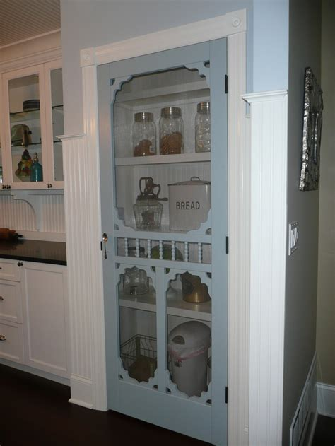 screen door pantry in farmhouse kitchen i would so do