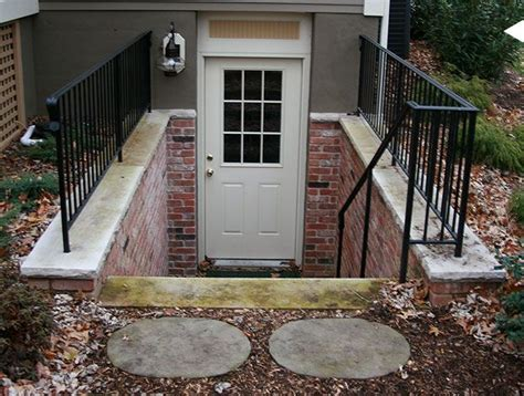 basement outside entrance basement pinterest