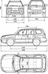 Subaru Outback Width Subaru Forester Dimensions 2017 Ototrends Net