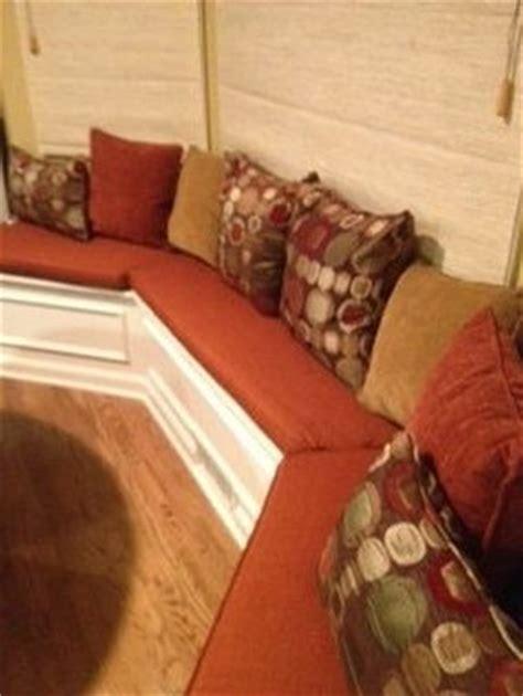 custom made window seat cushions custom bay window seat cushions by hearth and home