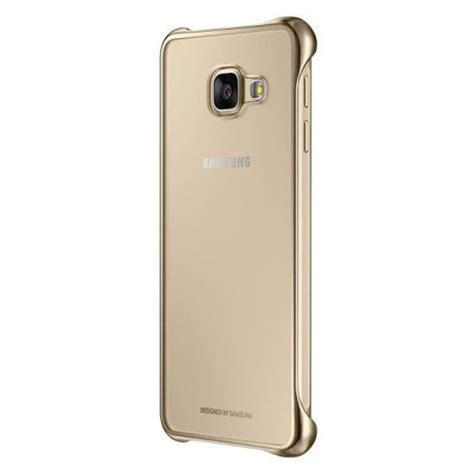 Clear Cover Samsung A5 2016 Original official samsung galaxy a5 2016 clear cover gold
