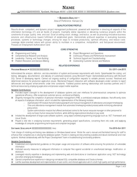 business analyst resume template word browse best resume format business analyst free resume
