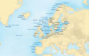 Northern Europe Map by Northern Europe