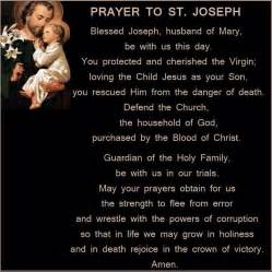 st joseph home prayer prayer to joseph faith n prayer