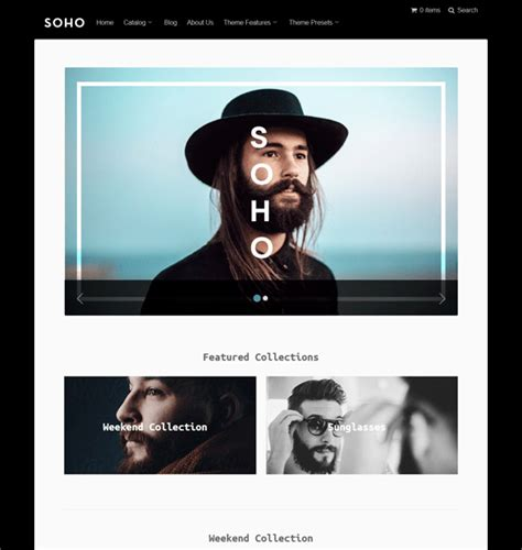shopify themes kingdom 10 of the best black shopify themes down